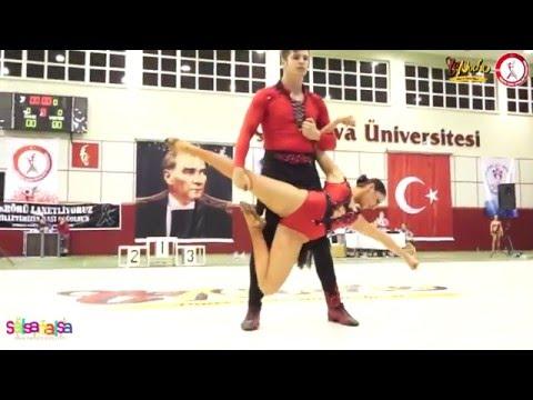 Alexander Sezai Guven & Tuana Tugce Ayaz - B Klas 2.leri - Tdsf Adana 2.Etap Salsa Yarışması - 2016