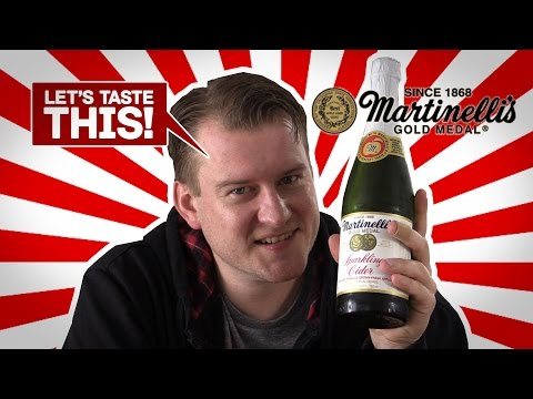 Sparkling Apple Cider - Let's Taste This! - S. Martinelli & Company