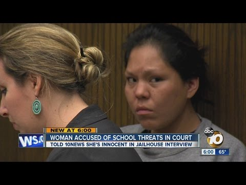 Woman accused of threatening to carry out shooting at Lakeside school pleads not guilty