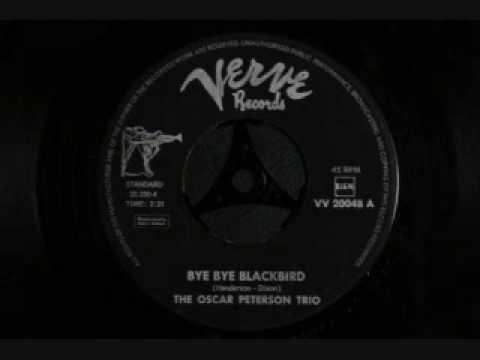 The Oscar Peterson Trio - Bye bye blackbird