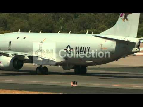 AUSTRALIA: MH370 SEARCH - US P8 POSEIDON DEPARTS