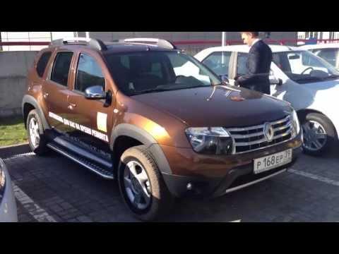 Renault Duster. Тест-драйв в Калининграде