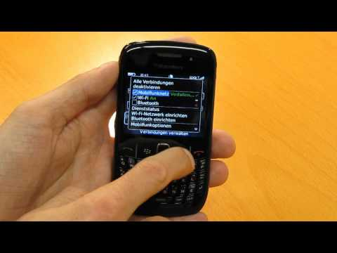 Der Blackberry Curve 8520 in Aktion