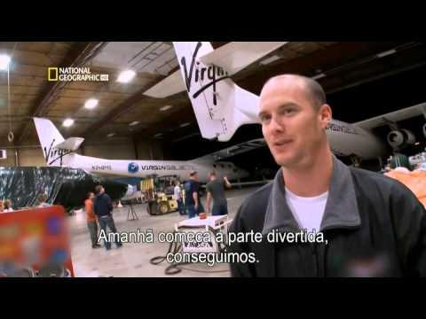 Virgin Galactic - Primeiro Programa Turistico Espacial - Documentário legendado