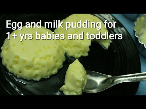 egg pudding for babies baby food recipes baby food ideas baby