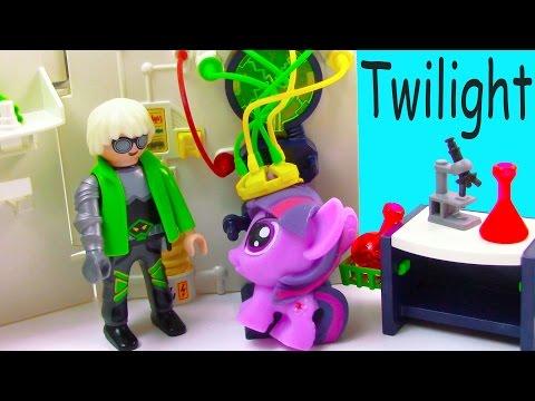 Mlp Fashem's Twilight Mad Scientist Lab Unicorn Magic My Little Pony Pinkie Pie Video video