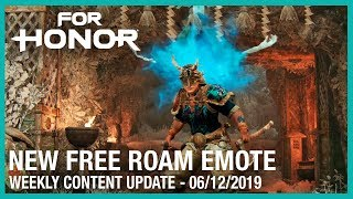For Honor: New Free Roam Emote | Week 06/12/2019 | Weekly Content Update | Ubisoft [NA]