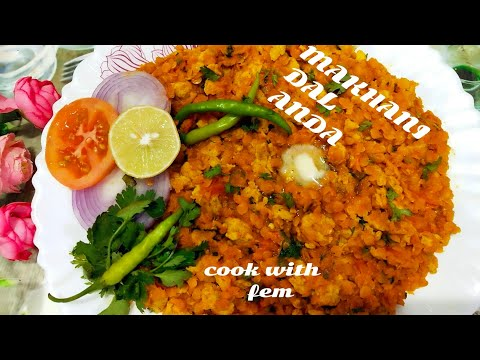 Makhani Dal Anda Recipe | Try This Healthy & Nutritious Recipe For Bachelors  - Cook With Fem
