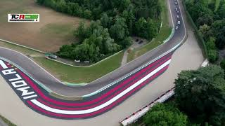 2018 Imola, TCR Italy in Imola from the sky