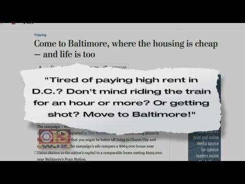 Outrage Over 'Washington Post' Article Bashing Baltimore