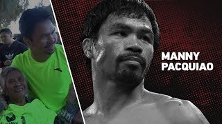 Manny Pacquiao Ends Camp Like He Began With 1300 Situps &  Inspires 91 year old