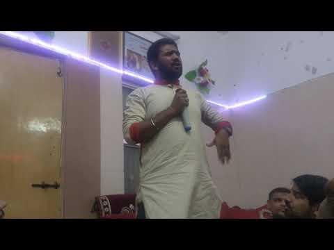 Jang E Shifin |Jashne Bali Sakina sa 2019 | Zameen Raza Part2 | Shabe Jumma Program Ahmedabad Part 5