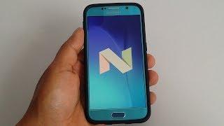 Actualización Android 7.0 oficial samsung S6 G920F 128GB