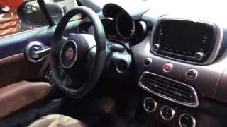 Fiat 500x: first look al salone di Parigi