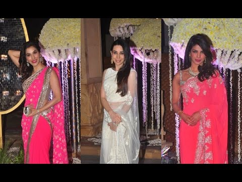 Grand Wedding Reception Of Manish Malhotra's Niece