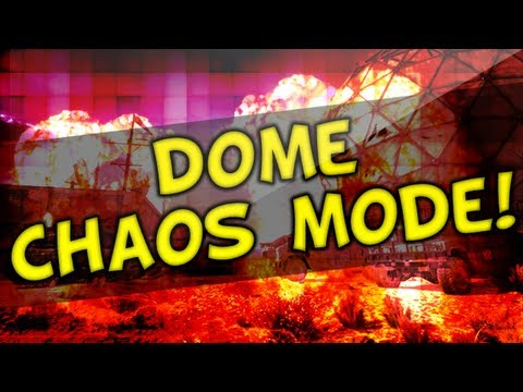 MW3 Dome Chaos Mode Gameplay - My First Game LIVE (MW3 Map Pack 8)