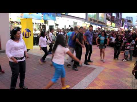 Thr Raaga Flash Mob video