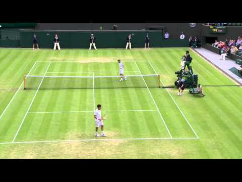2013 Day 5 Highlights: David Ferrer v Roberto Bautista Agut