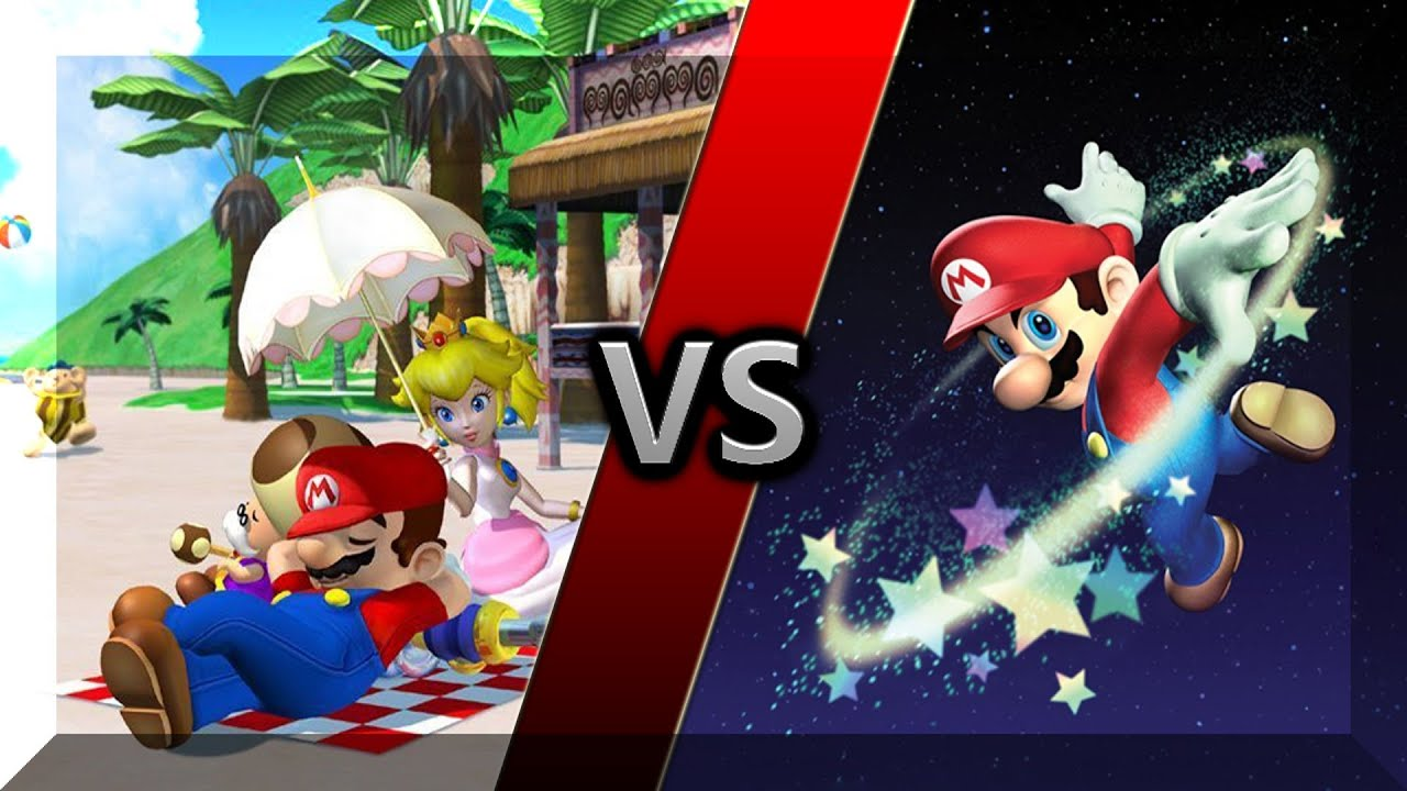 video game matchup 3 super mario sunshine vs super mario