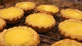 Chinese Egg Tart (Very Flaky Puff Pastry!)