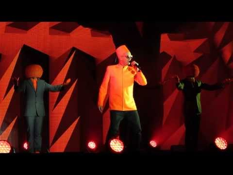 Pet Shop Boys -domino Dancing + Heart + Always On My Mind - Live  Edinburgh's Hogmanay 2013 2014 video