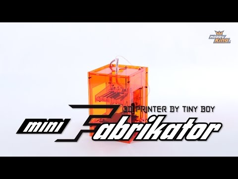 Mini Fabrikator 3D Printer by Tiny Boy - HobbyKing Product Video