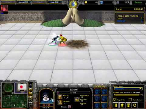Warcraft 3 Naruto - Sasuke Jutsu