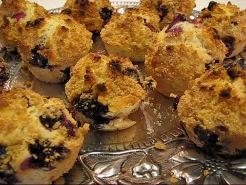 Betty's Blueberry Streusel Muffins