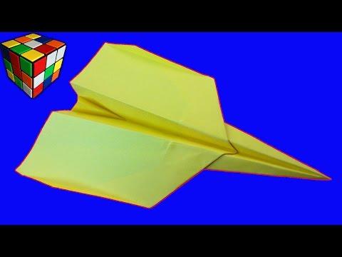 Как сделать самолет из бумаги оригами своими руками