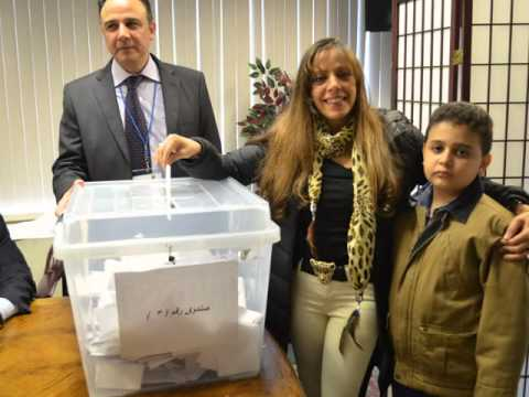 Vote for new Egyptian Constitution at Egyptian Consulate NY Sunday January 12, 2014