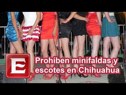 Prohíben minifaldas y escotes en Chihuahua