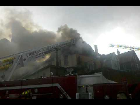 3 Alarm Apt Fire Homestead Borough, PA 12-1-10