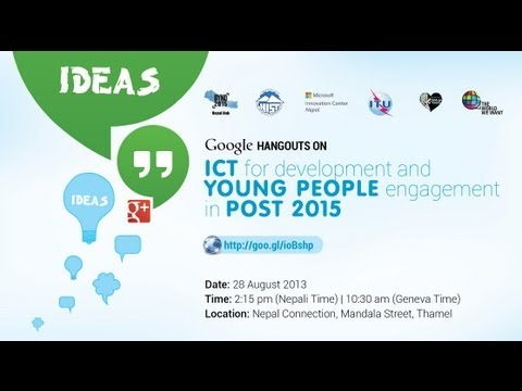 BYND2015 Nepal Hub Hangout