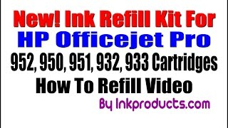 New! HP 952 Cartridge Ink Refill Kit