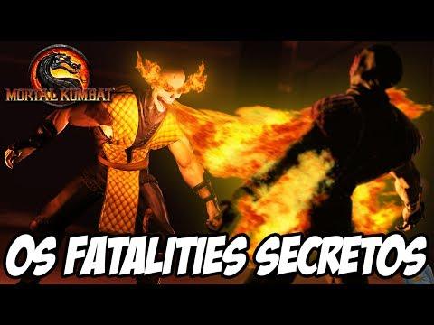 Mortal Kombat 9 - Os Fatalities Secretos