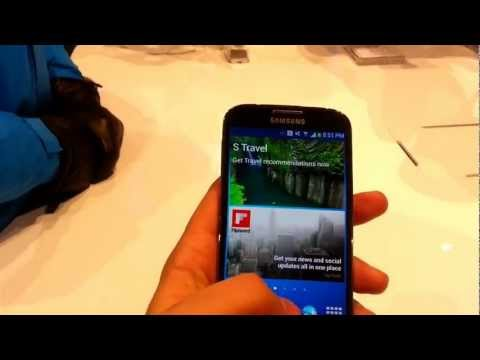 Samsung I9500 Galaxy S 4 hands on review
