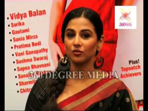 Vidya Balan Talks About Her Car's Glass At The Launch Of Cover Page Of Savvy Magazine video