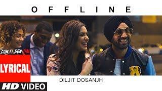 Offline Lyrical Song | CON.FI.DEN.TIAL | Diljit Dosanjh | Latest Song 2018