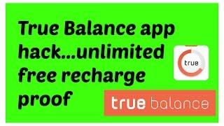 true balance app hack unlimited recharge