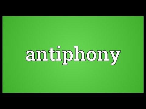 Header of antiphony