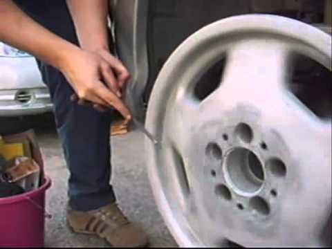 Reparacion y pulido de llantas youtube - Pulir llantas de aluminio a espejo ...