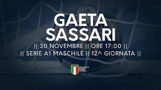 Serie A1M [12^]: Gaeta - Sassari 25-29