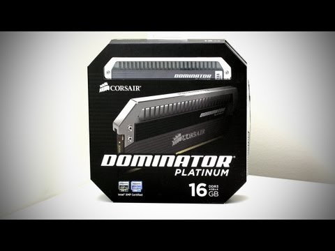 Corsair Dominator Platinum DDR3 Gaming Memory Unboxing (RAM - UGPC 2012)