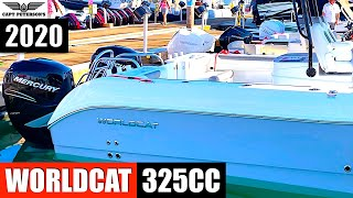 "2020 Miami Boatshow Worldcat 325CC Sea Trial Demo by Capt Tim ""SGT"" Peterson"