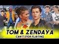 TOM HOLLAND AND ZENDAYA CANT STOP FLIRTING WITH EACH OTHER | Spider Man: Far From Home Teaser