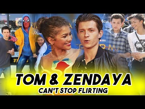 TOM HOLLAND AND ZENDAYA CANT STOP FLIRTING WITH EACH OTHER | Spider-Man: Far From Home Teaser thumbnail