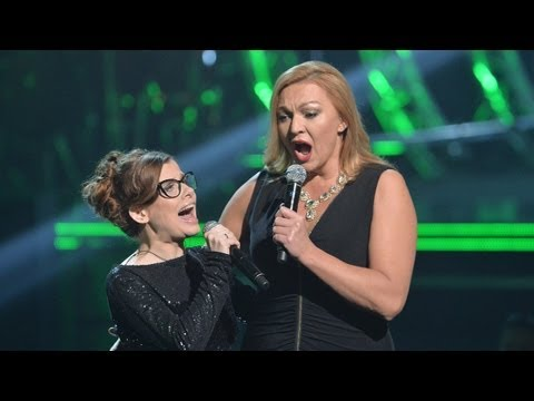"The Voice of Poland - Dorota Osi�ska i Ma�gorzata Walewska - ""Memory"""