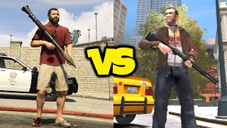 GTA 4 VS GTA 5! - Is GTA IV A Better Game Than GTA V? Gameplay Mechanics, Physics & MORE!