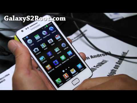 How to Root Samsung Galaxy S2 GT-i9100 Android 4.0 (ICS)