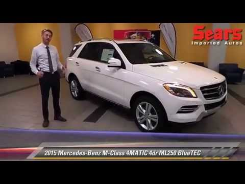 New 2015 Mercedes-Benz M-Class 4MATIC ML250 BlueTEC - Minnetonka. Minneapolis. Bloomington. MN